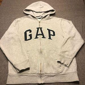 GAP Kids Classic Front Zip Hoodie
